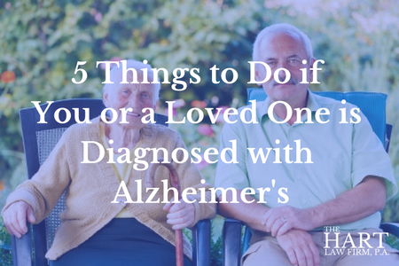 diagnosed with alzheimer's