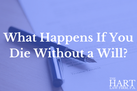 What Happens If You Die Without an Estate Plan?