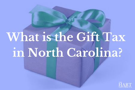 What is the Gift Tax in NC?